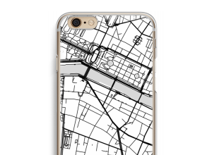 Put a city map on your iPhone 6 / 6S case