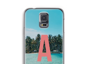Make your own Galaxy S5 monogram case