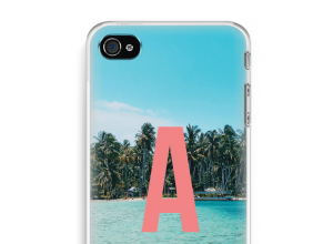 Make your own iPhone 4 / 4S monogram case