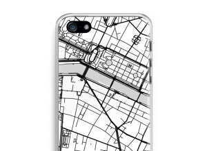 Put a city map on your iPhone 5 / 5S / SE (2016) case