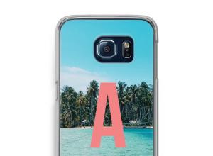 Make your own Galaxy S6 Edge monogram case
