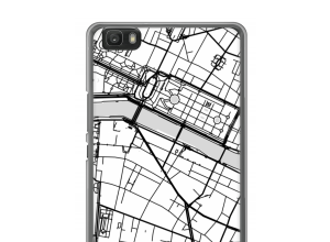 Put a city map on your Ascend P8 lite (2016) case