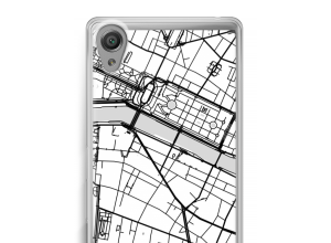 Put a city map on your Xperia X Performance case