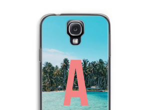 Make your own Galaxy S4 monogram case