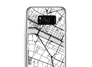Put a city map on your Galaxy S8 case