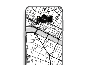 Put a city map on your Galaxy S8 Plus case