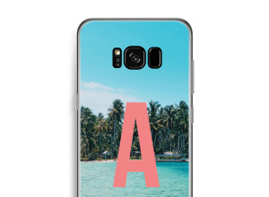 Make your own Galaxy S8 Plus monogram case