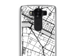 Put a city map on your V10 case