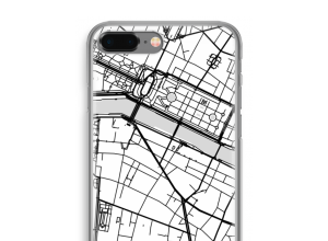Put a city map on your iPhone 8 Plus case
