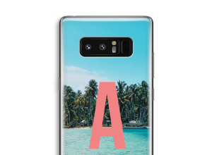 Make your own Galaxy Note 8 monogram case