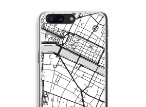 Put a city map on your OnePlus 5 case