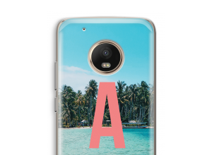 Make your own Moto G5 monogram case