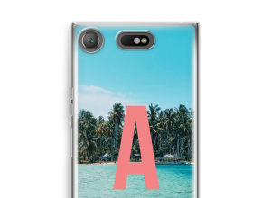 Make your own Xperia XZ1 Compact monogram case