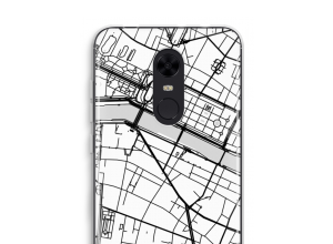 Put a city map on your Redmi 5 case