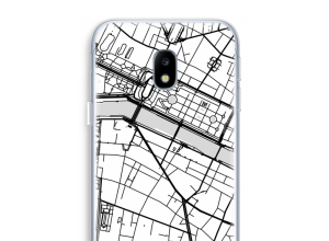 Put a city map on your Galaxy J3 (2017) case