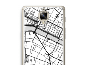 Put a city map on your Oneplus 3T case
