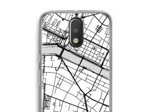 Put a city map on your Moto G4 / G4 Plus case