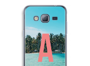 Make your own Galaxy J3 (2016) monogram case