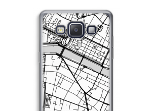 Put a city map on your Galaxy A5 (2015) case