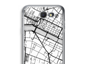 Put a city map on your Galaxy J5 Prime (2017) case