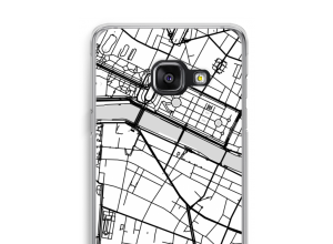 Put a city map on your Galaxy A3 (2016) case