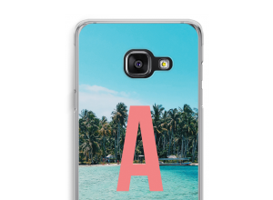 Make your own Galaxy A3 (2016) monogram case