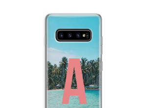 Make your own Galaxy S10 Plus monogram case