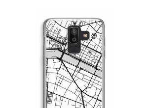 Put a city map on your Galaxy J8 (2018) case