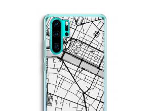 Put a city map on your P30 Pro case