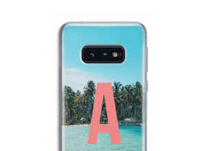 Make your own Galaxy S10e monogram case
