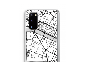 Put a city map on your Galaxy S20 case
