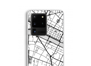 Put a city map on your Galaxy S20 Ultra case