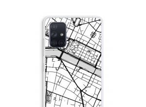 Put a city map on your Galaxy A71 case