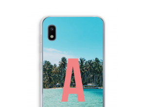 Make your own Galaxy A10 monogram case