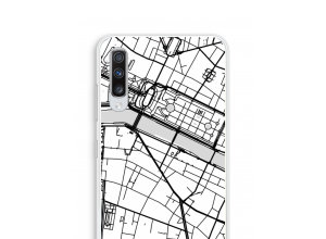 Put a city map on your Galaxy A70 case