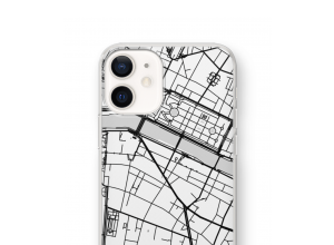Put a city map on your iPhone 12 mini case
