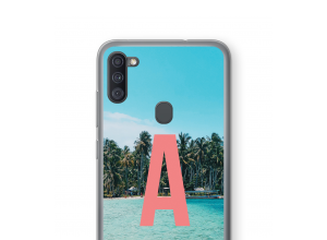 Make your own Galaxy A11 monogram case