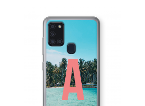 Make your own Galaxy A21s monogram case