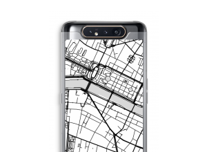 Put a city map on your Galaxy A80 case