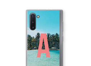 Make your own Galaxy Note 10 monogram case