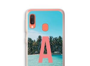 Make your own Galaxy A20e monogram case