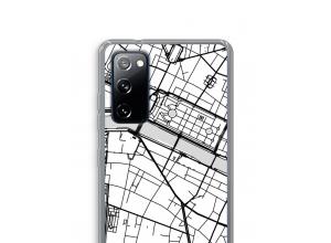 Put a city map on your Galaxy S20 FE / S20 FE 5G case