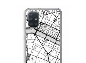 Put a city map on your Galaxy A52 case