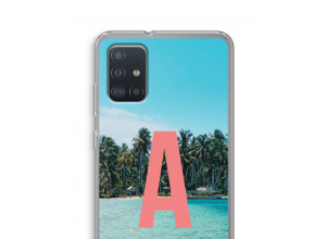Make your own Galaxy A52 monogram case