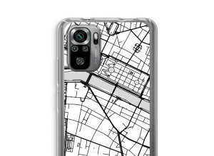 Put a city map on your Xiaomi Redmi Note 10S case