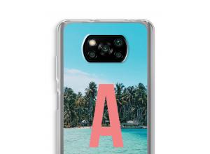 Make your own Xiaomi Poco X3 NFC monogram case