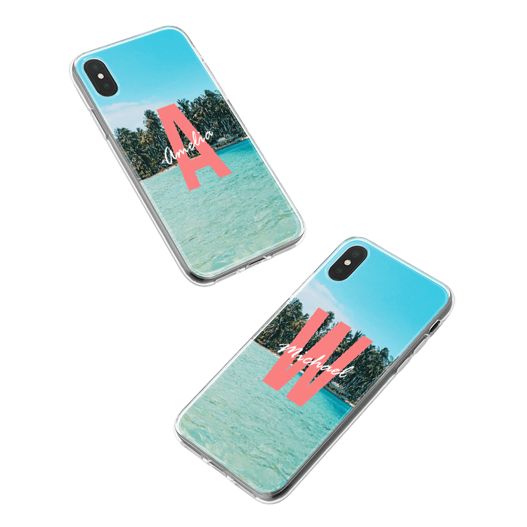 Put your monogram on a Honor 10 smartphone case